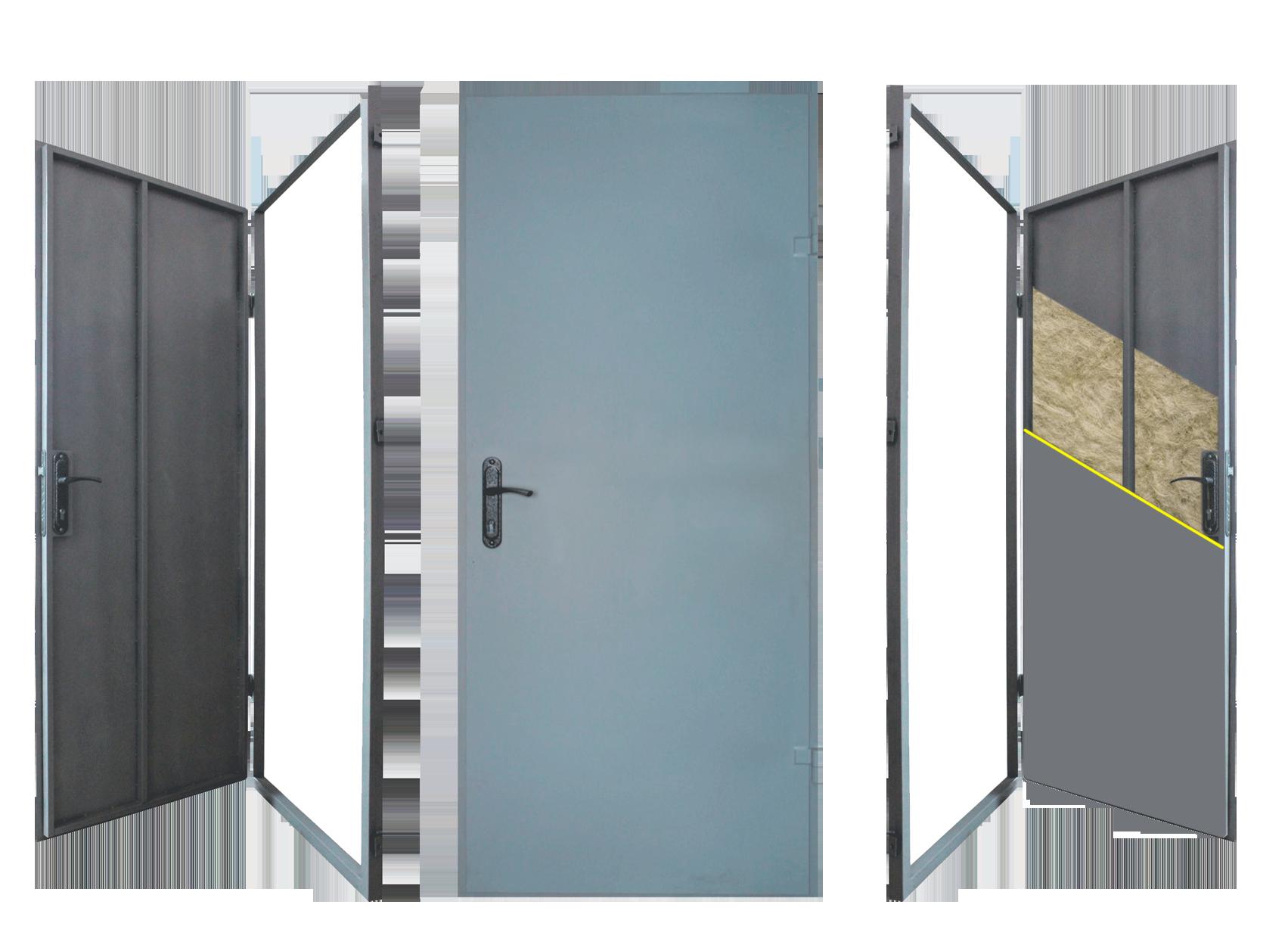 Технические двери металлические от производителя Двери Комфорта 782e11a879e